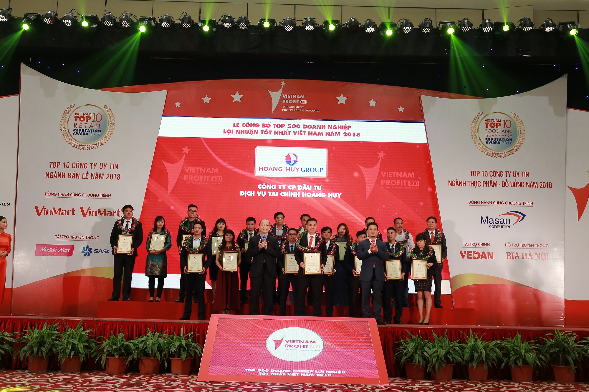 TCH: Honored as on of Top500 Vietnamese best profitable enterprises of 2018