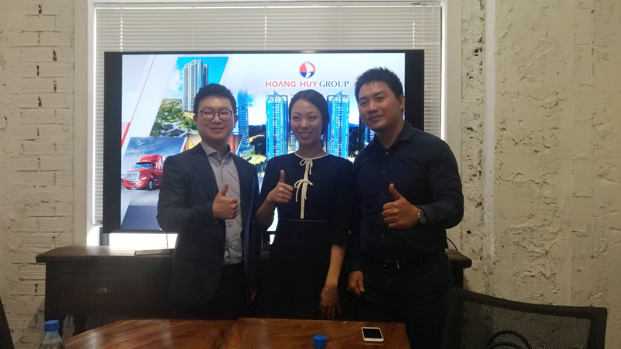 Hoang Huy Group had a private meeting with Hexagon in Hochiminh City